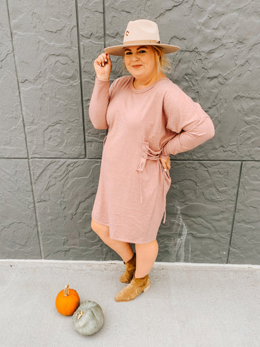 Fall Dates Long Sleeve Dress
