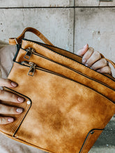 Load image into Gallery viewer, Twice As Good Crossbody in Cognac