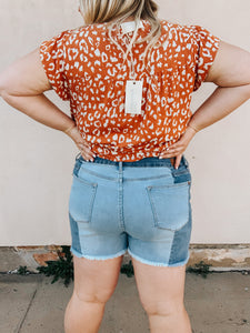 Breaking Up Was Easy Vintage Inspired Shorts