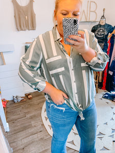 Easily Your Favorite Button Down Top
