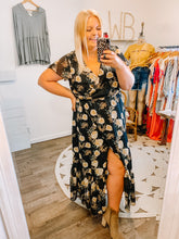 Load image into Gallery viewer, Fall Into Me Floral Dress