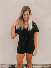 Load image into Gallery viewer, Harper Tie Romper
