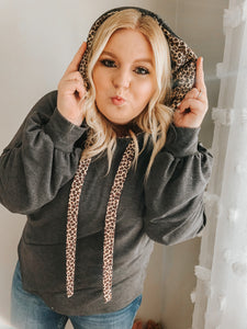 Slaying The Day Leopard Hoodie in All Sizes