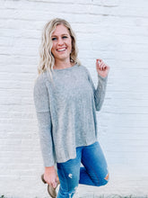 Load image into Gallery viewer, Harper Sweater in Grey