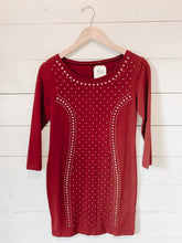 Load image into Gallery viewer, Gold Studded Bodycon