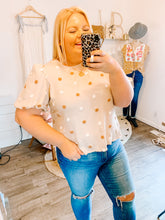 Load image into Gallery viewer, Mollie Polka Dot Top