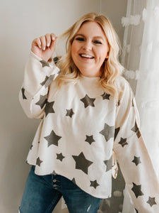 To The Stars and Back Sweater Top