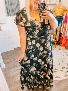 Fall Into Me Floral Dress