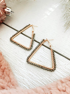 Maci Triangle Earring