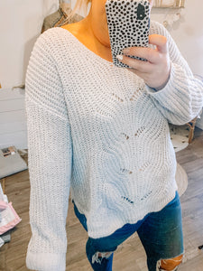 All About The Silver Lining Sweater