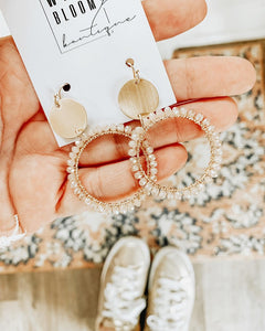 Millie Circle Earring