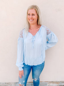 Lydia Top - Blue
