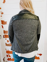 Load image into Gallery viewer, Leather Patch Jacket