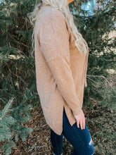Load image into Gallery viewer, Warm & Cozy Cowl Neck in Camel