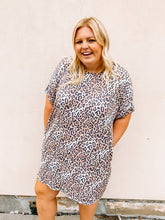 Load image into Gallery viewer, Casual Meet Up Leopard Dress