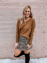 Load image into Gallery viewer, Laurel Leopard Skirt