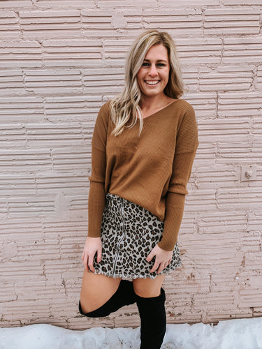Laurel Leopard Skirt