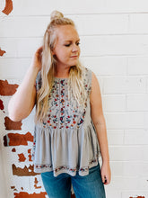 Load image into Gallery viewer, Tanya Embroidered Tank
