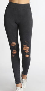 Ripped Seamless Legging