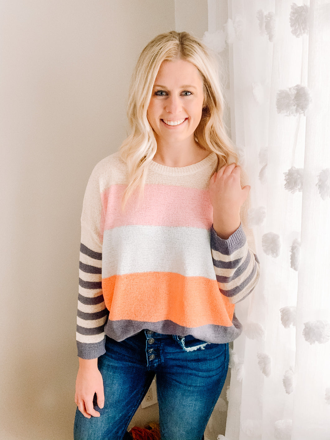Bright & Sunny Knit Top