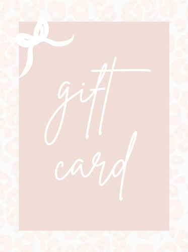 Wild Bloom Gift Card