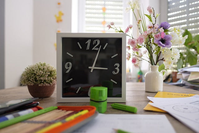 Scheduling Homeschool Learning with Limited Time and Energy