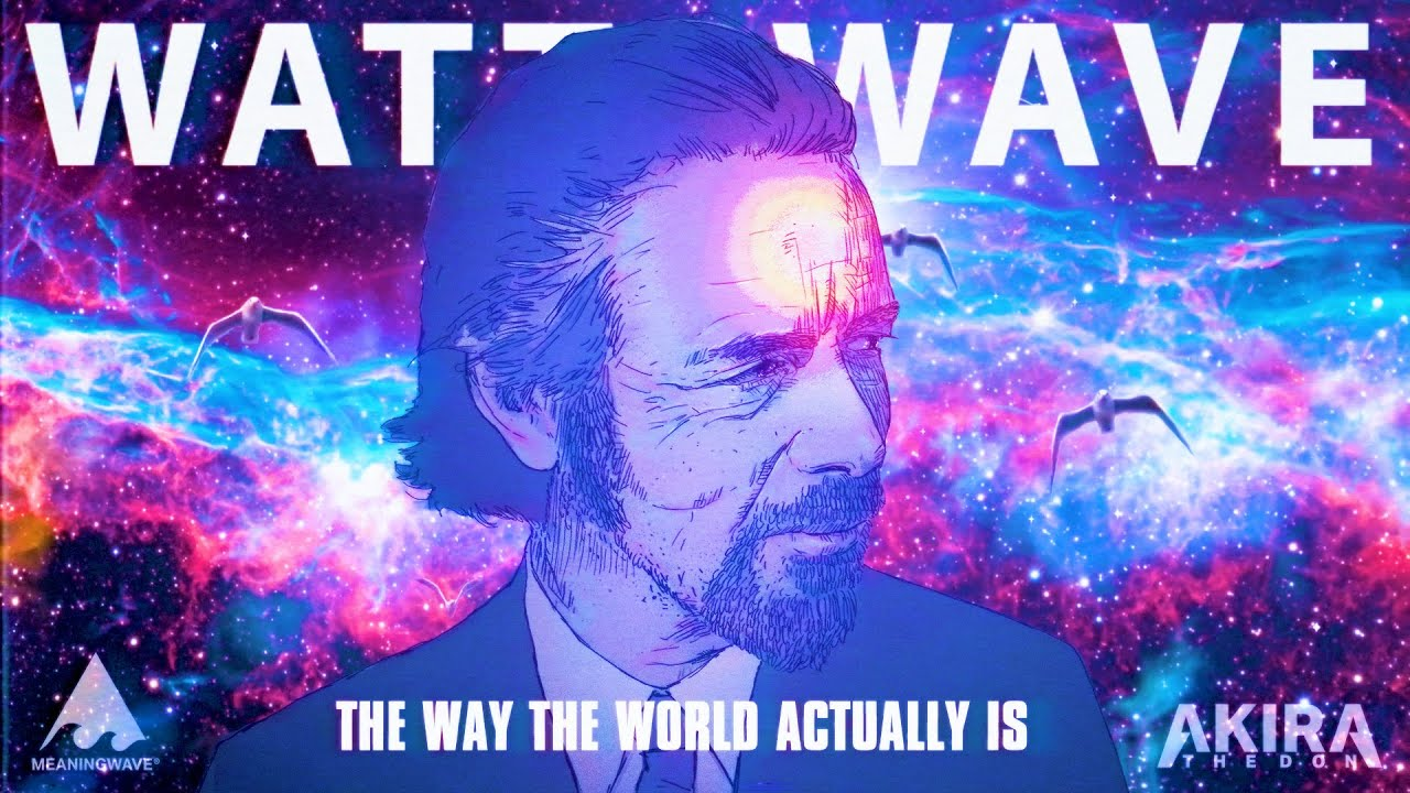 Alan Watts & Akira The Don - THE WAY THE WORLD ACTUALLY IS | MV | Meaningwave | Lofi Hip hop