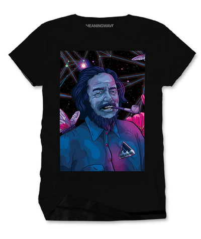 ALAN WATTS - WATTSWAVE V Men's Cotton T-Shirt