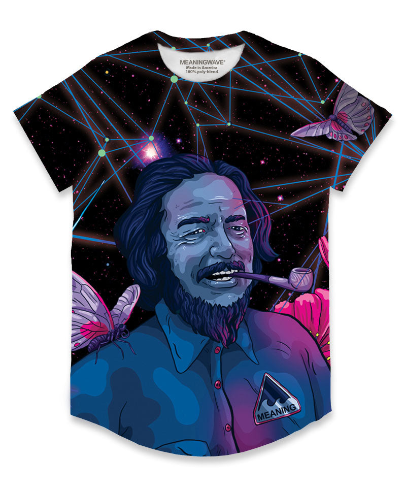 ALAN WATTS - WATTSWAVE V Men's Scoop T-Shirt