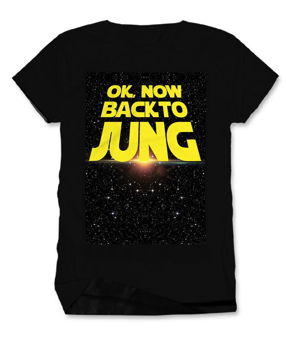 BACK TO JUNG Men's Cotton T-Shirt