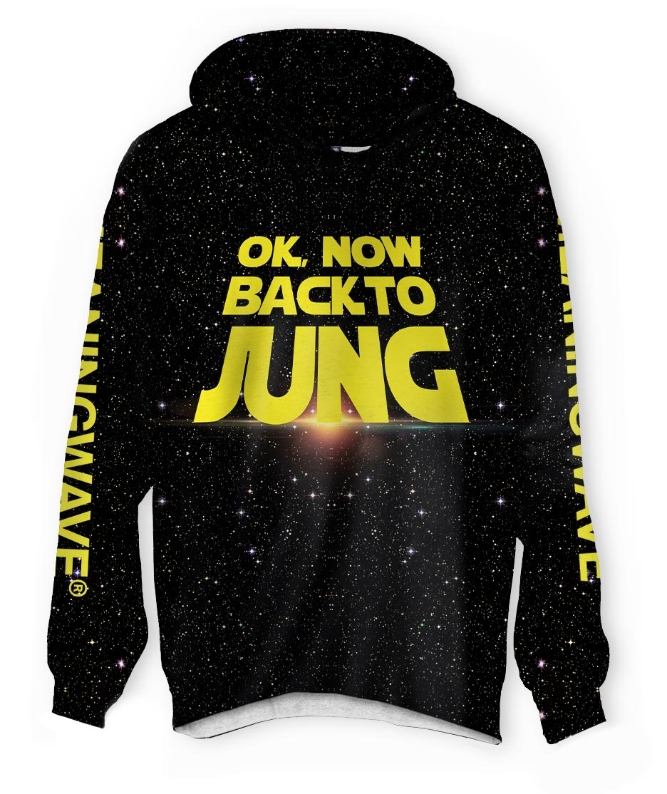 BACK TO JUNG Lightweight Hoodie