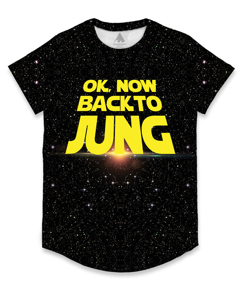 BACK TO JUNG Men's Scoop Tee