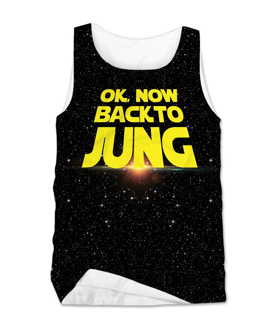 BACK TO JUNG Men's Tank