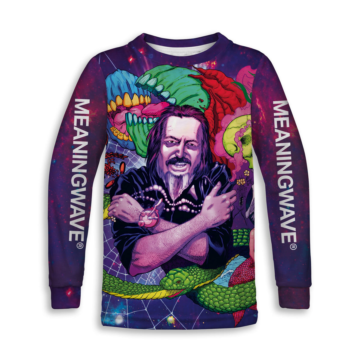 ALAN WATTS - WATTSWAVE VI Childrens Sweatshirt | Fabrifaction.com