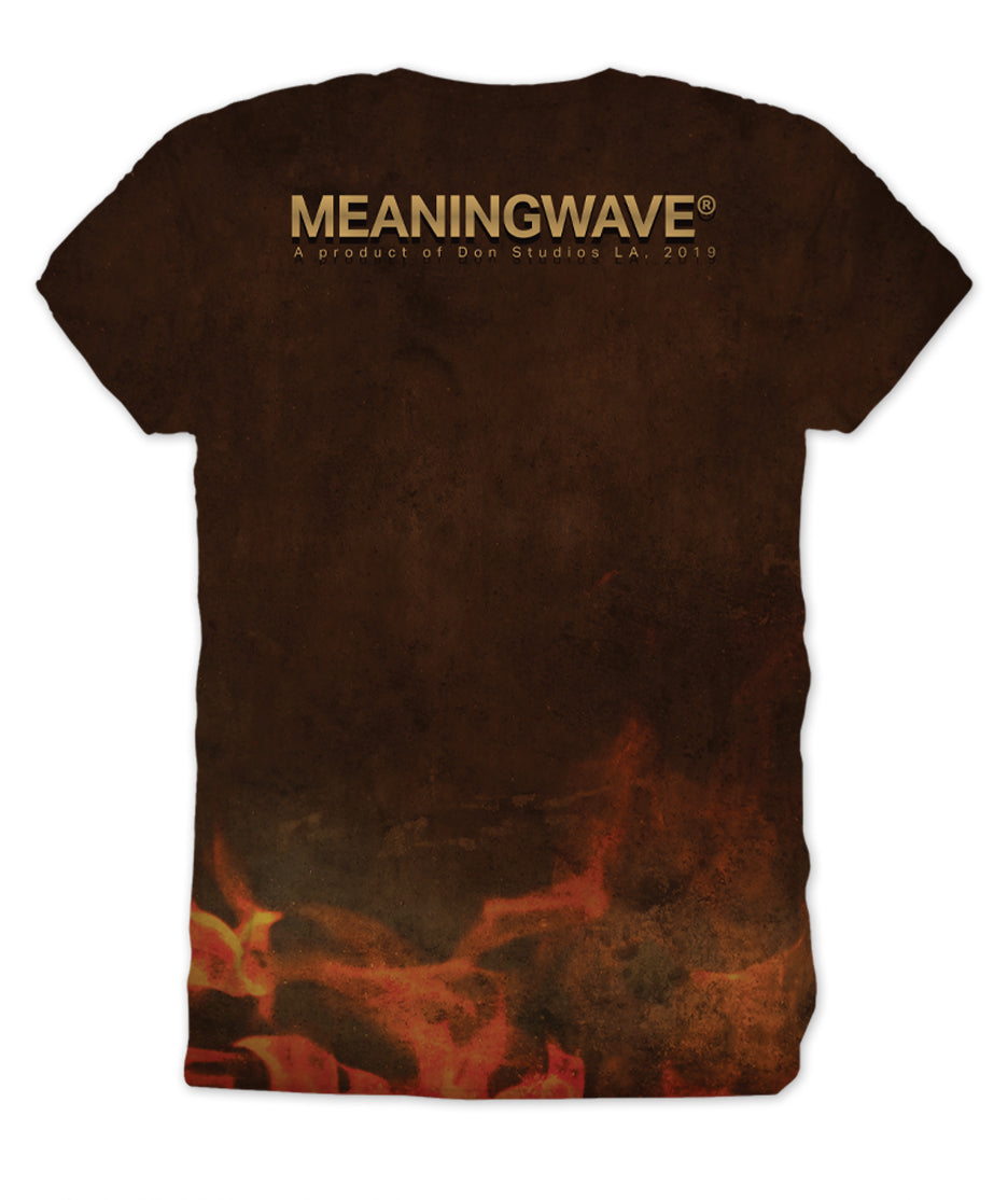 Meaningwave - Confront The Dragon Men's T-Shirt