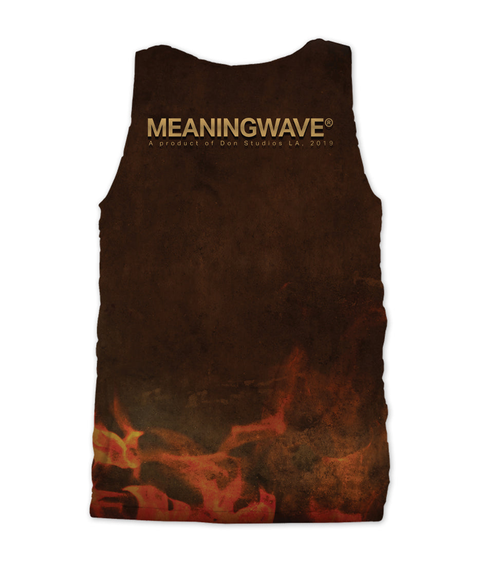 Meaningwave - Confront The Dragon Men's Tank