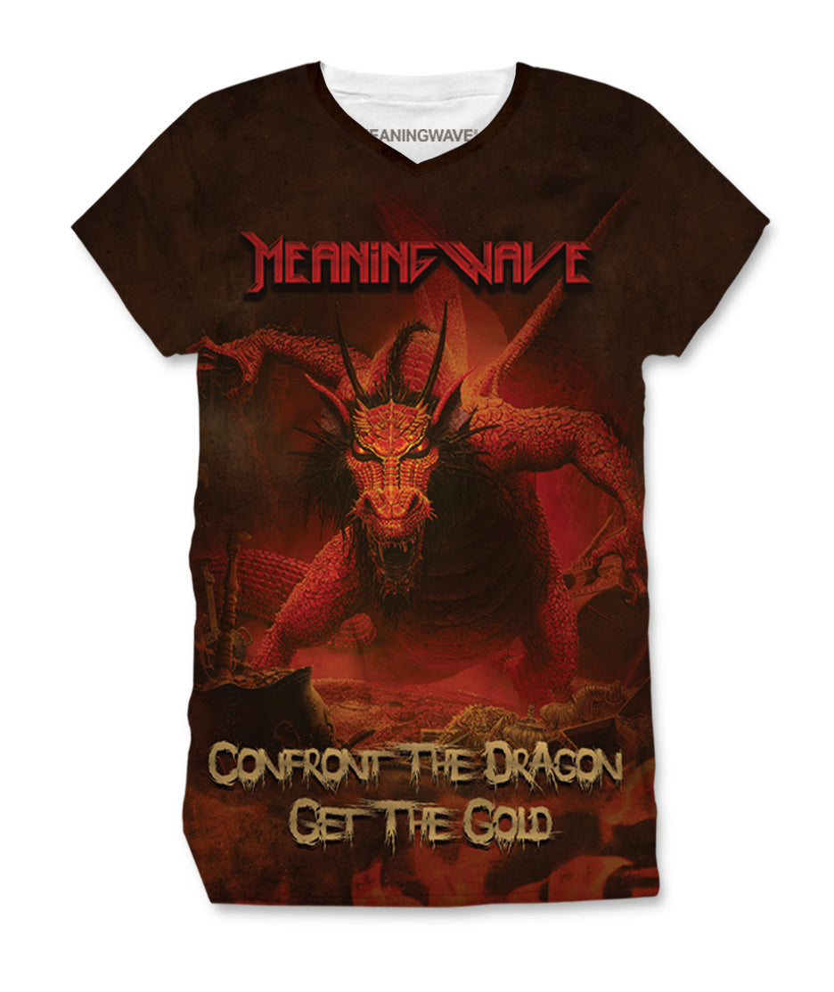 Meaningwave - Confront The Dragon Women's T-Shirt