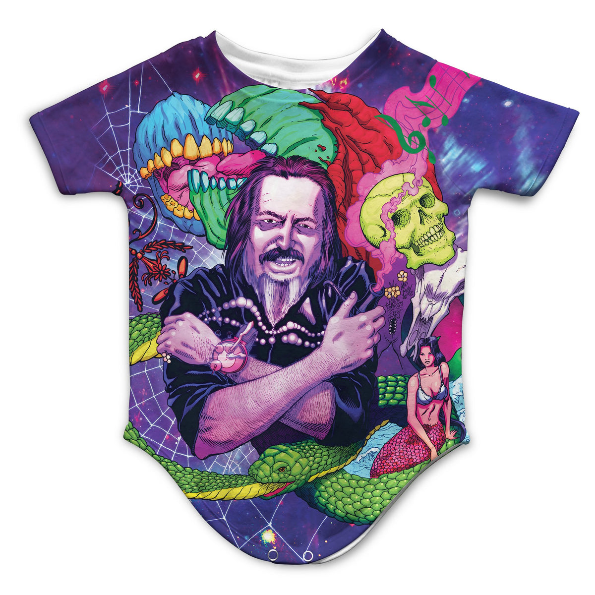 ALAN WATTS - WATTSWAVE VI Infant Bodysuit | Fabrifaction.com