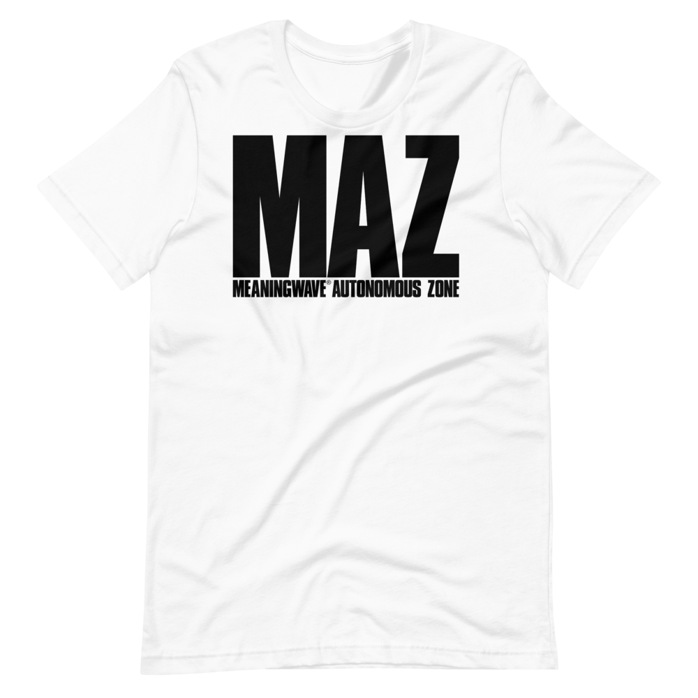 MAZ: Meaningwave Autonomous Zone | Cotton Crew Tee