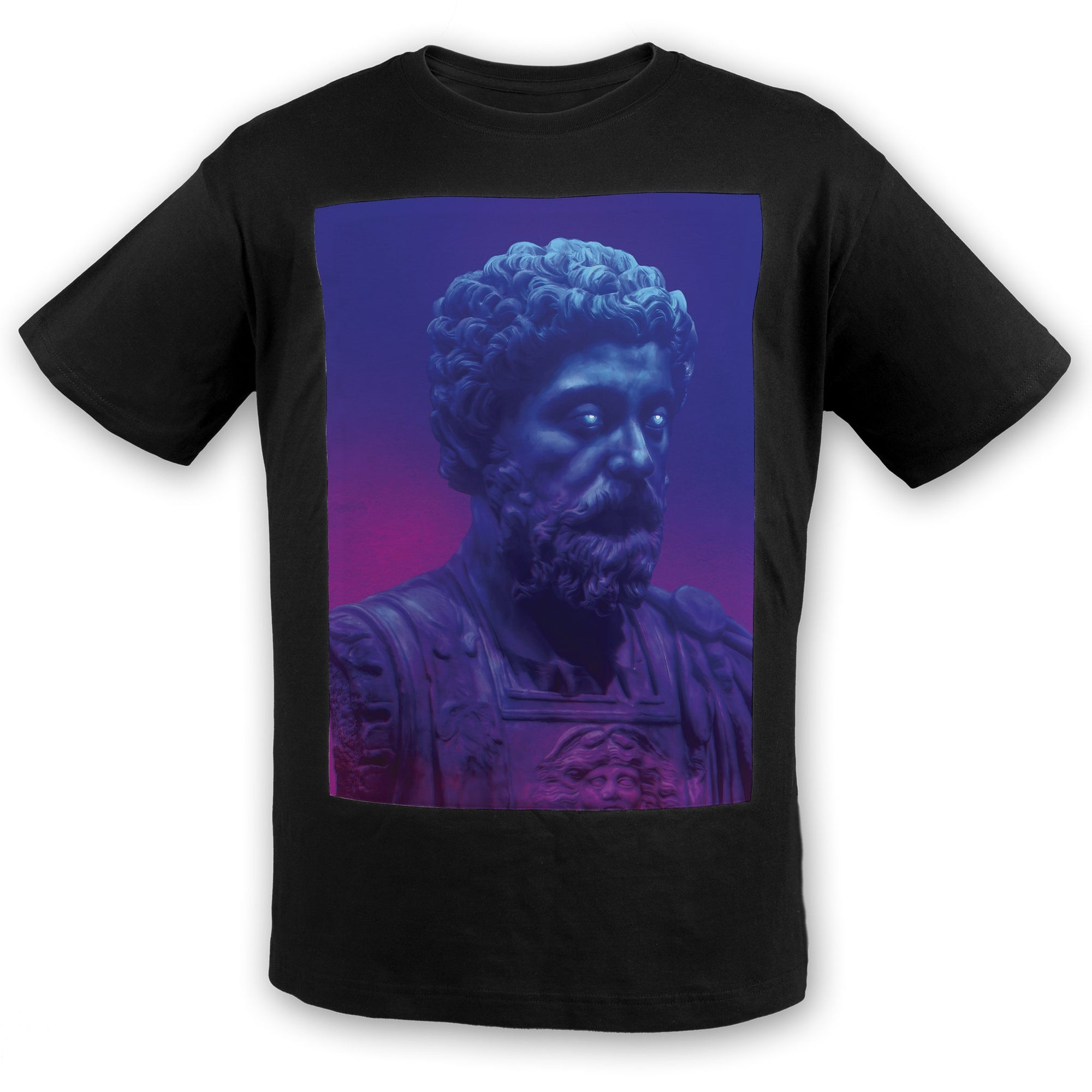 AKIRA THE DON & MARCUS AURELIUS - SELF CONTROL Cotton Tee | meaningwave.com
