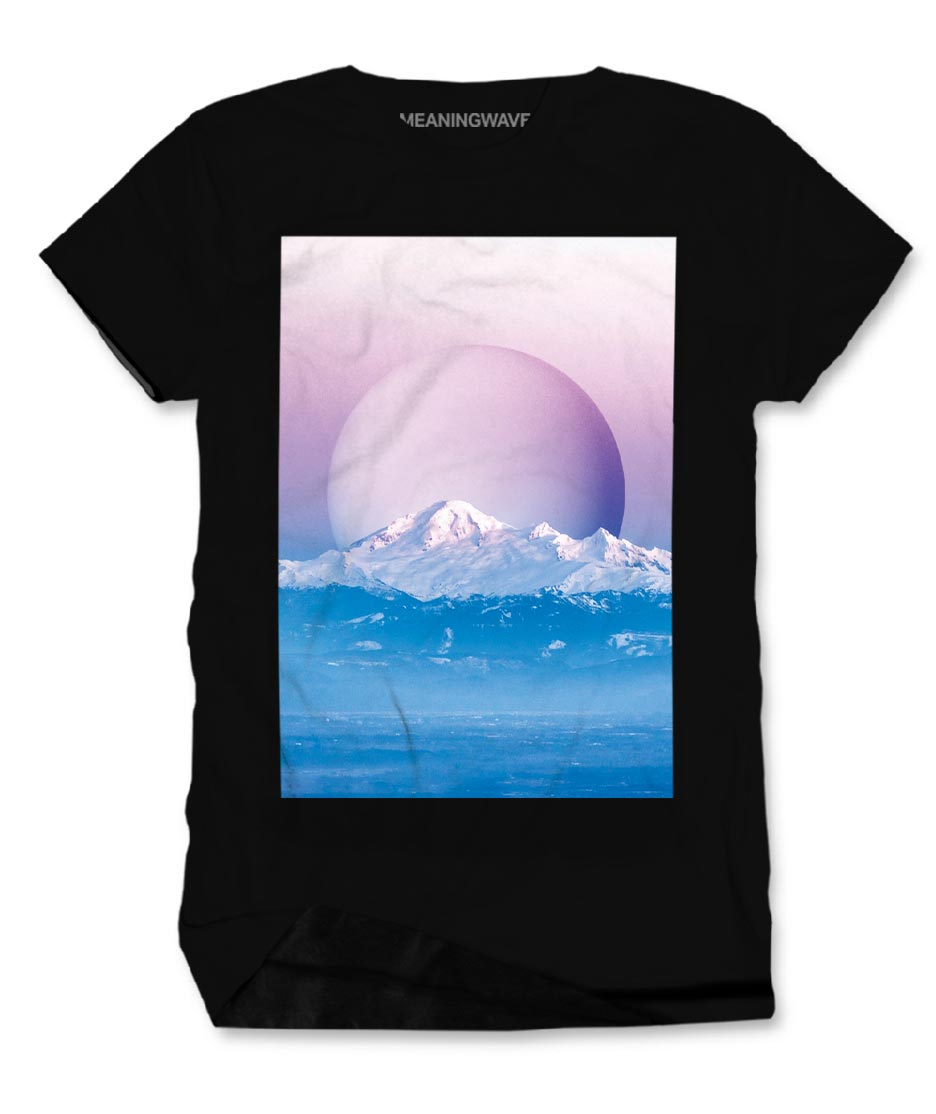 MEANINGWAVE CALM Men's Cotton T-Shirt