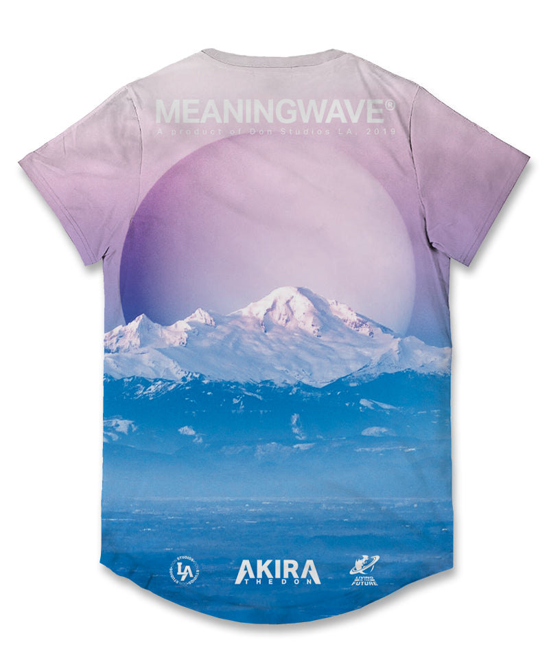 MEANINGWAVE CALM Men's Scoop T-Shirt