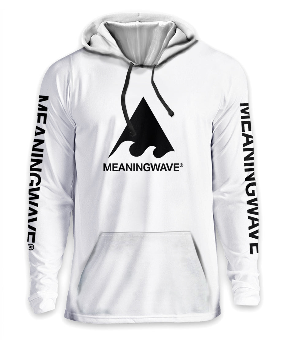 Meaningwave - BLACK Logo Classic Hoodie