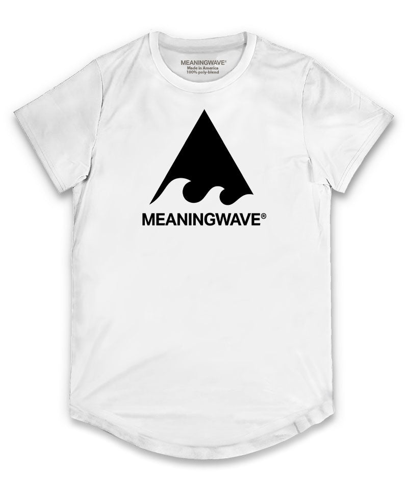 Meaningwave - BLACK Logo Classic Men's Scoop T-Shirt