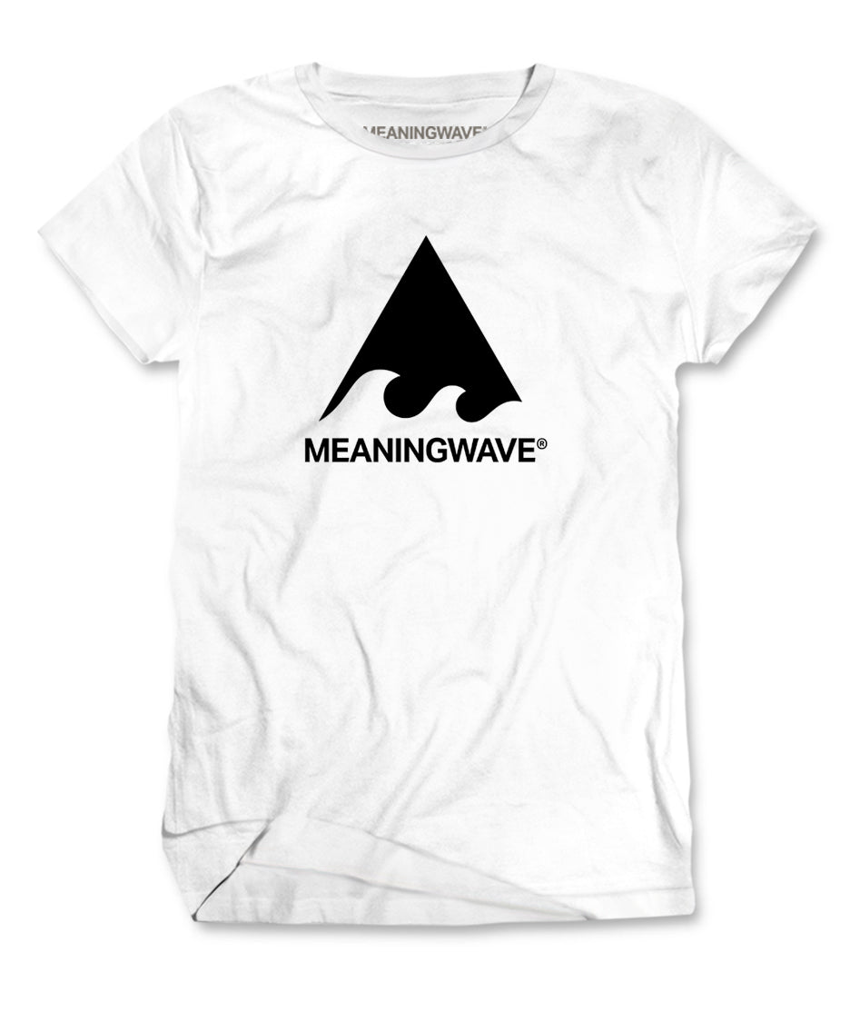 Meaningwave - BLACK Logo Classic Men's T-Shirt