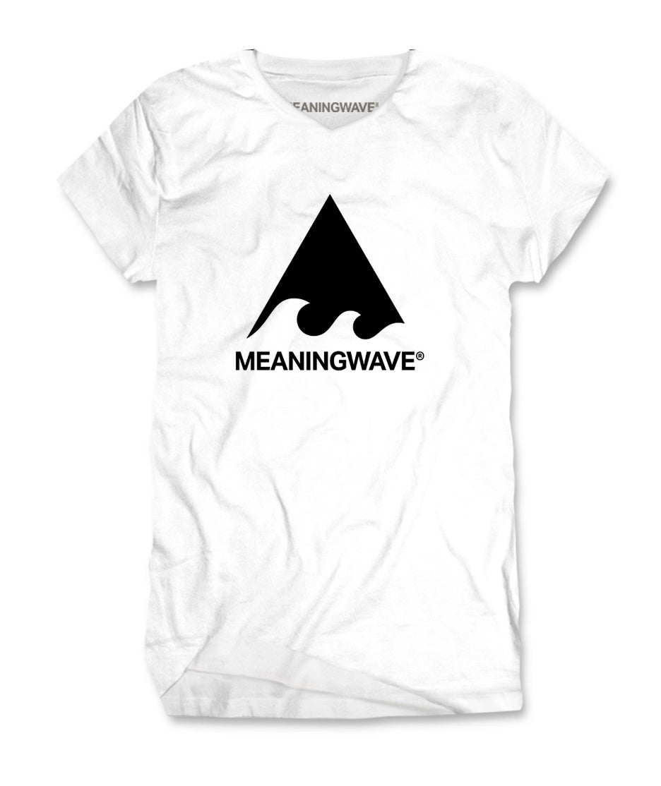 Meaningwave - BLACK Logo Classic Women's T-Shirt