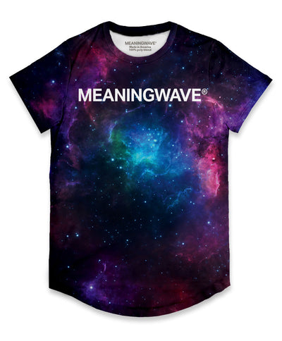 Meaningwave Cosmos Men's Scoop T-Shirt