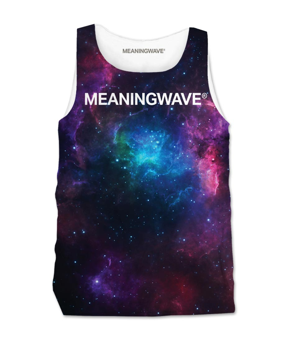 Meaningwave Cosmos Men's Tank