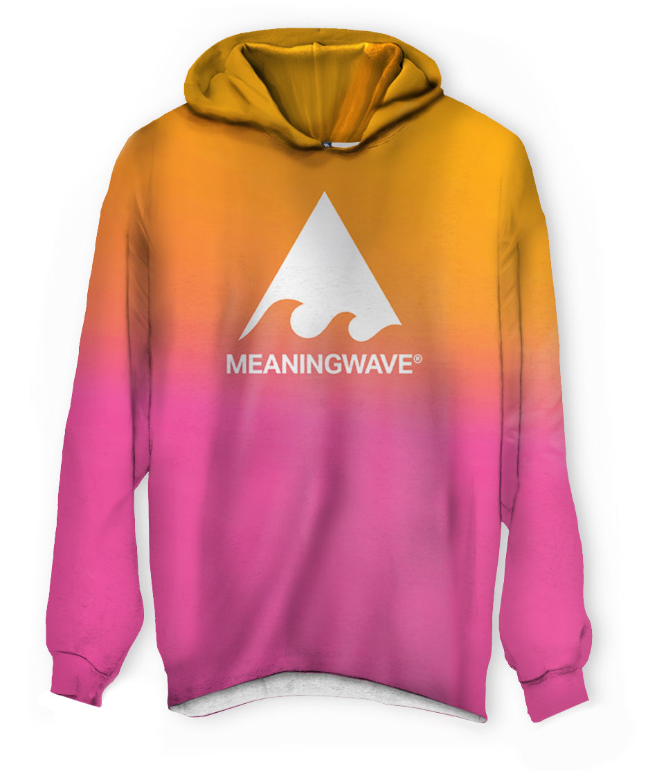 Meaningwave Sunset Lightweight Hoodie