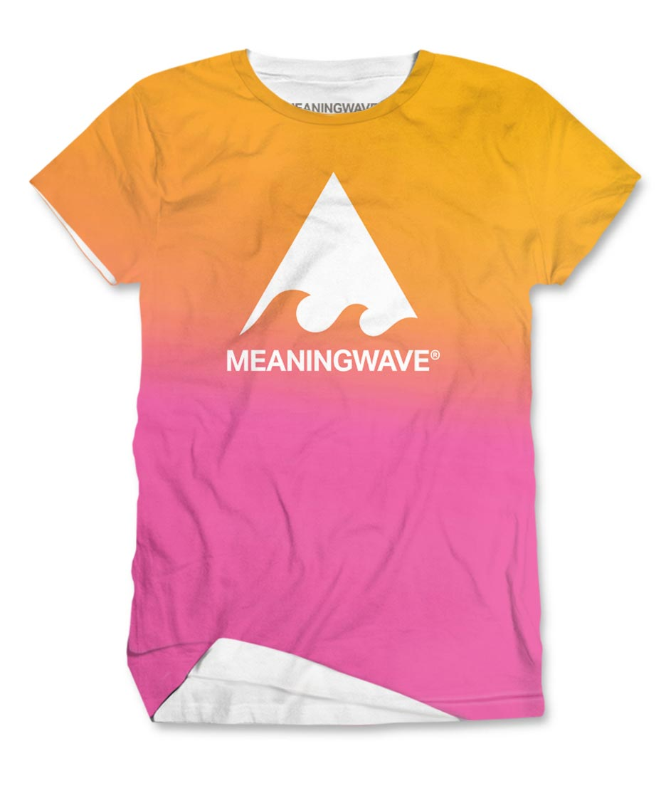 Meaningwave Sunset Men's T-Shirt